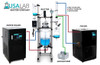 USA Lab 100L Single Jacketed Glass Reactor Turnkey System (Optional ETL Certification to UL and CSA Standards for Reactor)