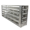 """Haier Rack  And Drawers For Upright -86°C DW-86L578J, DW-86L728J, DW-86L828J - DCJ-55-A 2"""" Stainless Steel Rack 5*5, Stainless Drawer Rack 5*5"""