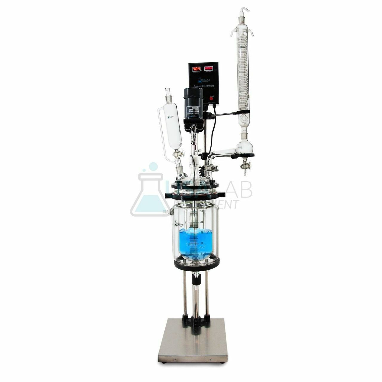 USA Lab 5L Single Jacketed Glass Reactor