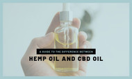A Guide to The Difference Between Hemp Oil and CBD Oil