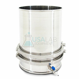 """USA Lab Stainless Steel 12"""" in. Buchner Funnel SS 304"""