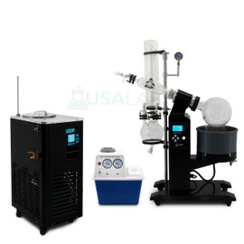 USA Lab 5L Rotary Evaporator Turnkey Setup Rotovap RE-1005