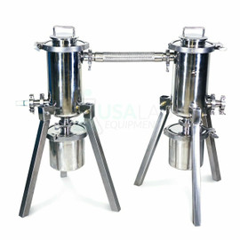 USA Lab R-2-TRAP-2 Dual Stainless Steel Cold Trap Set-up