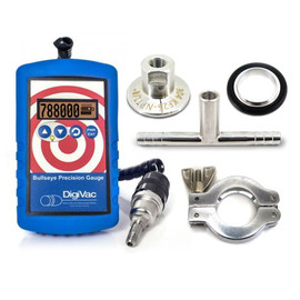 DigiVac Bullseye Precision Vacuum Gauge Testing Kit