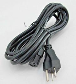 USA Lab 9' power cord from 220v plug 15 amp NEMA 6-15P to IEC 320 C13
