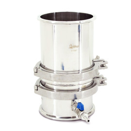 """USA Lab Stainless Steel 6"""" in. Buchner Funnel SS 304"""