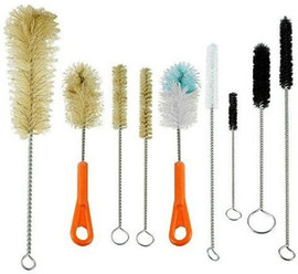 USA Lab 9 Piece Cleaning Brush Set