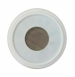 "1.5"" PTFE Clamp Gasket with mesh screen"