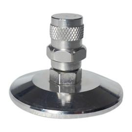 "1.5"" Tri-Clamp Manual Pressure Release Valve - Stainless Steel Low Pressure"