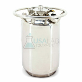 USA Lab 25lb Stainless Steel Solvent Tank - SS304 25LB Water (12LB Butane)