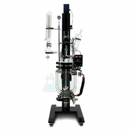USA Lab 20L Electric Lift Double Jacketed Glass Reactor