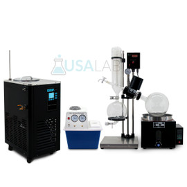 USA Lab 5L Rotary Evaporator Turnkey Setup Rotovap RE-501