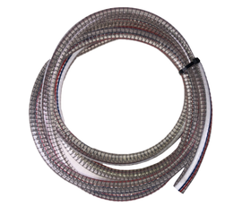"""USA Lab 12.7MM Wire Reinforced Vacuum Hose Tubing - Fits 1/2"""" Connections - 10FT"""