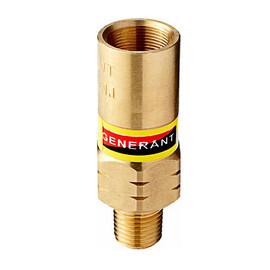 """1/4"""" MNPT Generant Cryogenic Relief Valve - 100PSI, 150PSI, 200PSI, 250PSI -196°C to 176°C"""