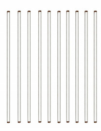 USA Lab Glass Stirring Rod 10 pack