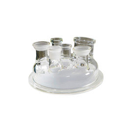 USA Lab Single Jacketed Glass Reactor Lids