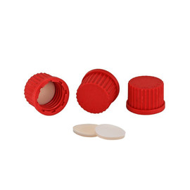 Chemglass GL-14, GL-18 Solid Cap with PTFE Seal & Individual Seal