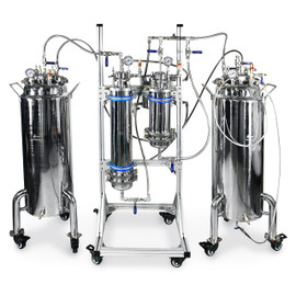 USA Lab 5LB Atlas Hydrocarbon Extraction Closed Loop Compression System Extractor