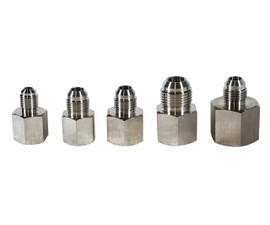 USA Lab 37° Female JIC to Male JIC Adapter- Various Sizes