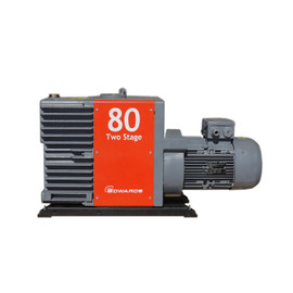 Used Edwards E2M80 Dual Stage Rotary Vane Vacuum Pump- 56.5cfm