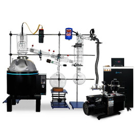 USA Lab N4 12L Full Bore Short Path Distillation Turnkey Kit with 100mm Head - USA Made Glass