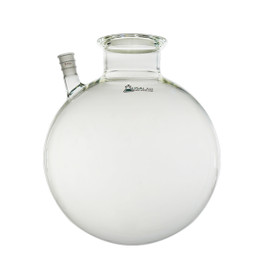 USA Made 2 Neck Round Bottom Flask - 100MM Center - 24/40 Side - 12L , 22L