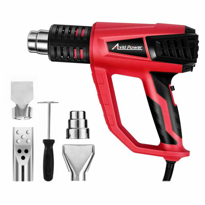 Heat Gun with Variable Temperature 122°-1022°