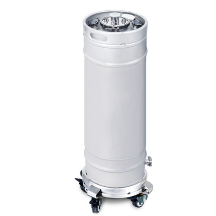 "USA Lab 100L 6"" Tri-Clamp Sanitary Keg w/ Dip Tube"