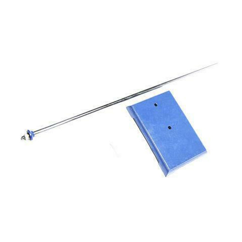 """Lab Stand Large Base 10"""" x 16"""" with 27 inch steel rod"""