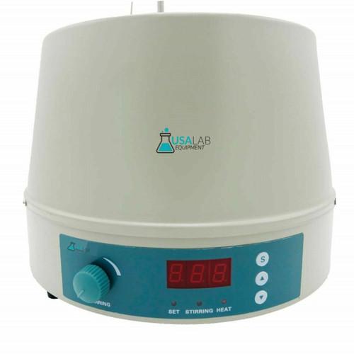 USA Lab 500ml 300°C 1200 RPM Digital Magnetic Heating Mantle