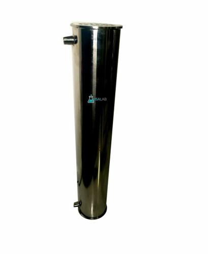 """Jacketed Heat Exchanger Condenser- 6"""" x 36"""" Tri Clamp w/ (2) 1/2"""" FNPT"""