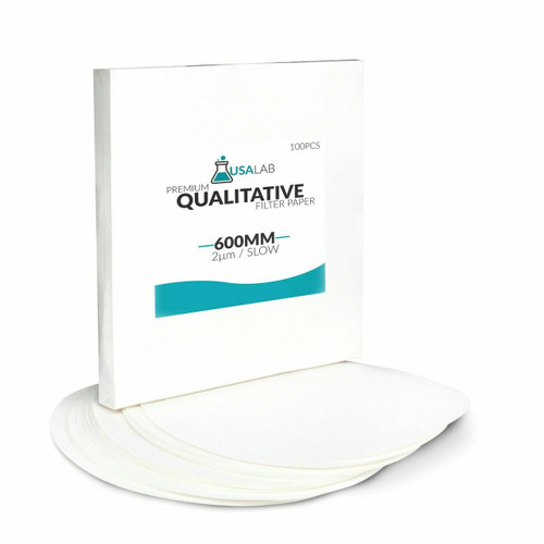 USA Lab Qualitative Filter Paper - Slow 2um Micron - Various Sizes