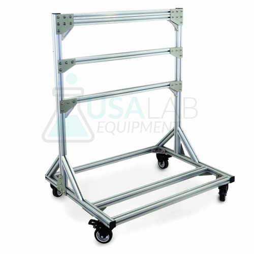 "USA Lab Aluminum Extraction Rack Mounting System - 39"" x 30"" x 50"""