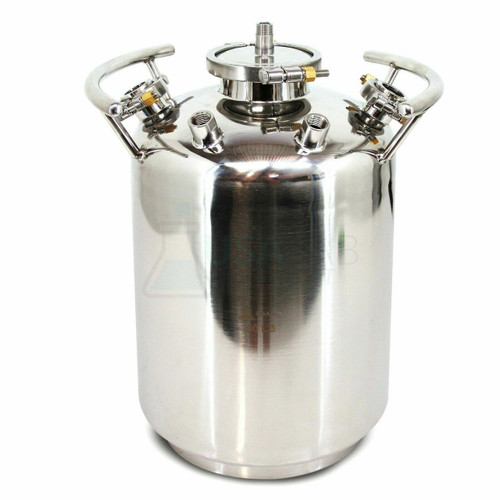 USA Lab 50lb Stainless Steel Solvent Tank - SS304