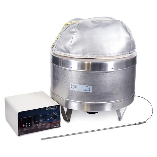 Glas-Col 100D-TEM116 12L Heating Stirrer Mantle Kit - 110V - 400°C - USA Made