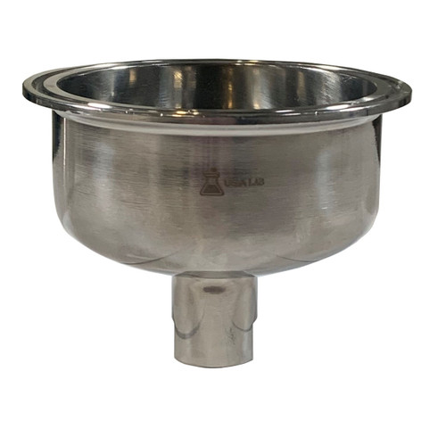"""Hemispherical Reducer - Tri Clamp 3"""" to .5""""FNPT - SS304"""