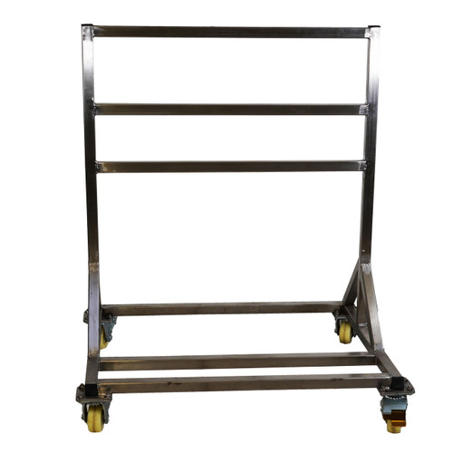 """USA Lab Stainless Steel Extraction Rack Mounting System - 39"""" x 30"""" x 50"""""""