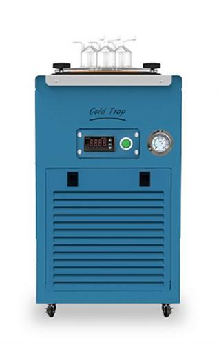 USA Lab UL Listed Mechanical Cold Trap Bath -40ºC or -80ºC / KF25 or Glass Insert