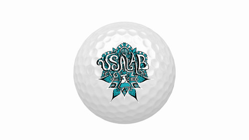 Pack of 3 USA LAB Golf Balls