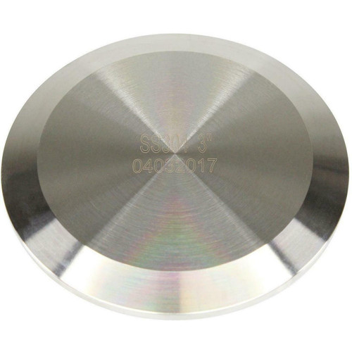 """USA Lab Stainless Steel ENDCAP- Various Sizes-1.5"""", 2"""", 3"""", 4"""", 6"""""""