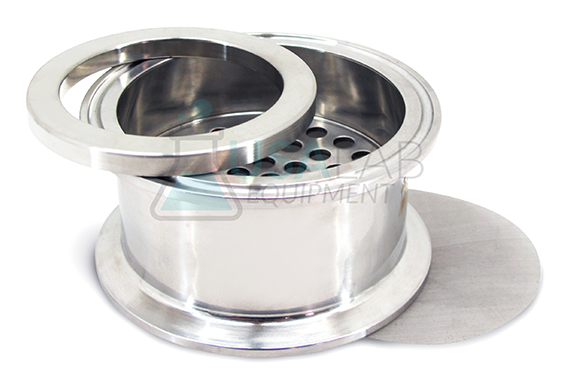 Tri Clamp 6 with 100 Micron Mesh /& Filter Ring Filter Plate Kit SS304