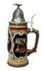 Baron Friedrich Von Steuben Beer Stein liberty bell