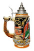 Blackbeard the Pirate Beer Stein