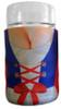 Dirndl Beer Mug Koozie for 1 Liter Dimpled Mugs, Front View