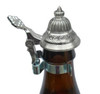 Flaschendeckel Miniature Pewter Beer Stein Lid on Beer Bottle
