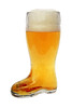 Glass Beer Boot 0.5 Liter with Custom Personalization Options