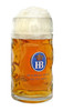 Customized Isar Hofbrauhäus Logo German Beer Mug