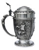 Nautical La Paloma Pewter Beer Stein