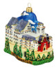 Authentic Handmade Painted German Glass Christmas Ornament