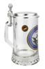 U.S. Navy Glass Beer Stein